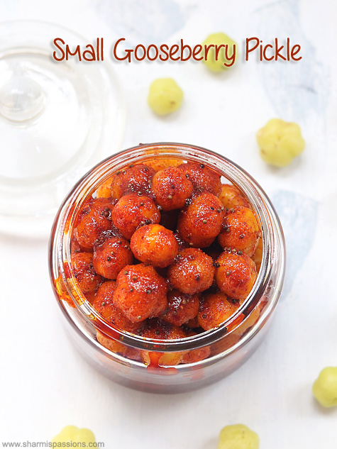 small gooseberry pickle recipe