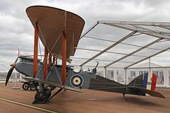 G-CDLI (E8894) De Havilland DH9 Royal Air Force Colours RAF Fairford R
