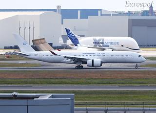 F-WZFA Airbus A350 Sichuan