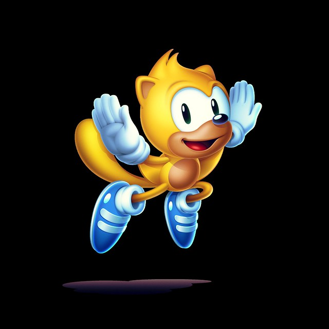 Sonic Mania Plus - Ray the Flying Squirrel