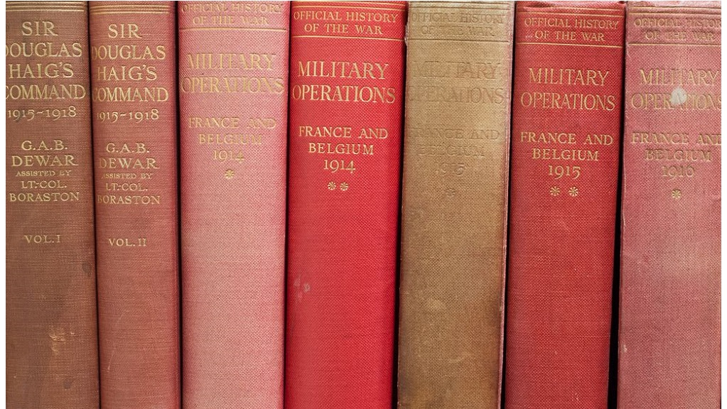Hussey Collection books