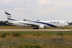 Boeing 767 -352(ER) EL AL 4X-EAR 26262 Entzheim juillet 2018