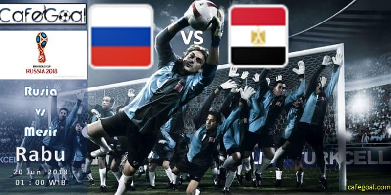 Prediksi Bola Rusia vs Mesir, hari Rabu, 20 June 2018 – Piala Dunia