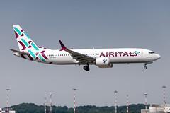 EI-GFY Air Italy Boeing 737 MAX 8