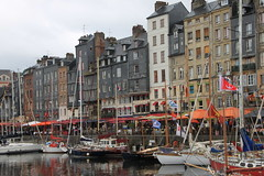 AIDAblu Westeuropa 2012 - 6.Tag, Frankreich, Le Havre, Honfleur