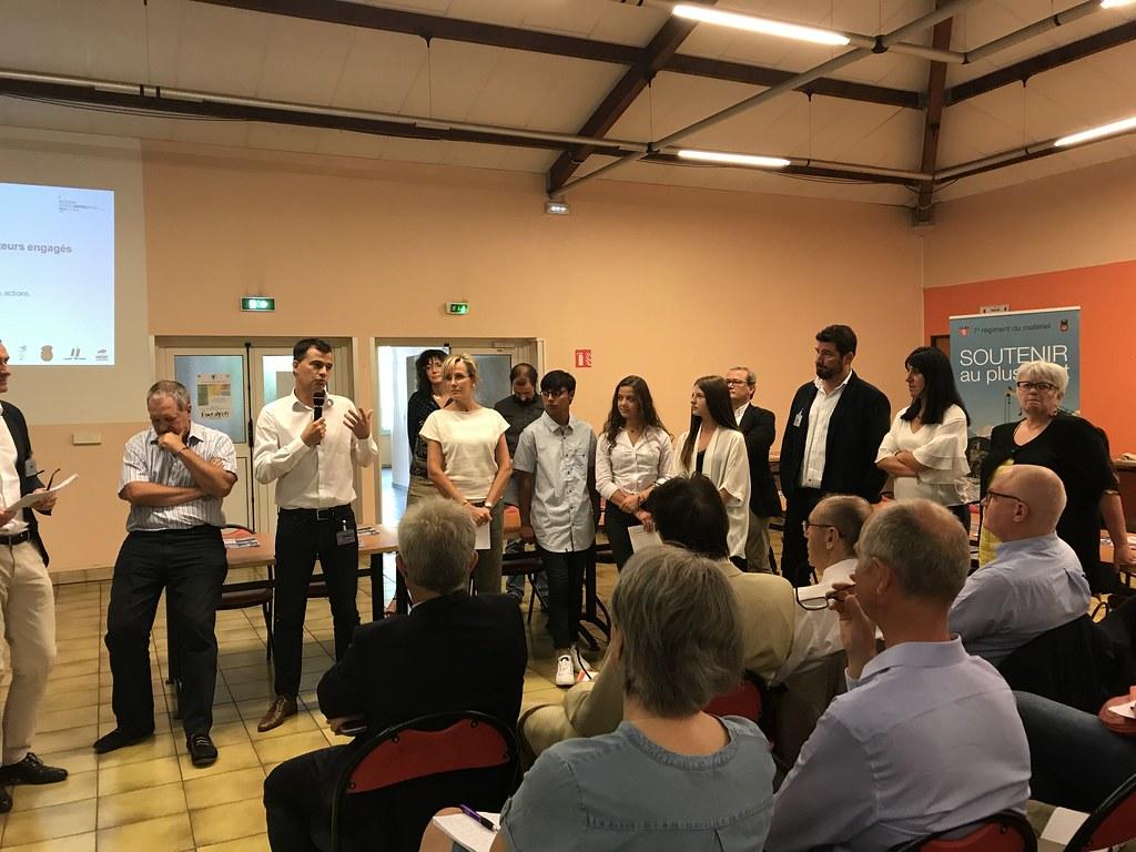 Bilan des actions Ecole-Entreprises au 7ème Régiment du Matériel de Lyon