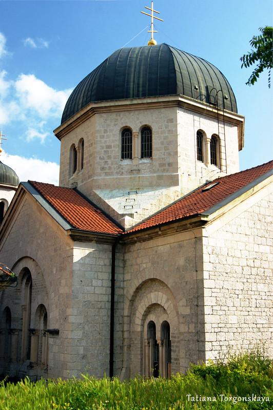 Вид на купол церкви Св.Николая