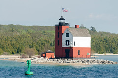 Michigan Trip - May 2018 - Round Island Lighthouse