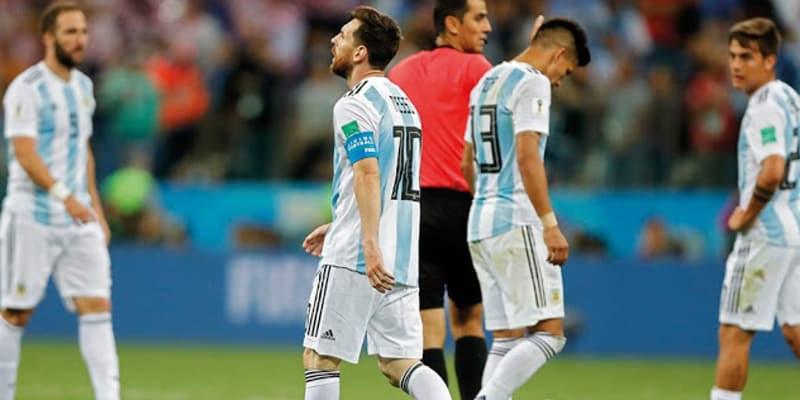Semua Pemain Argentina Menangis Seperti Anak Kecil