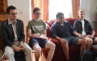 Salzburger Schüler in Kecskemét 2018