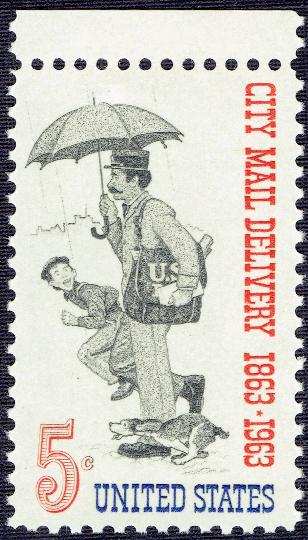 United States - Scott #1238 (1963)