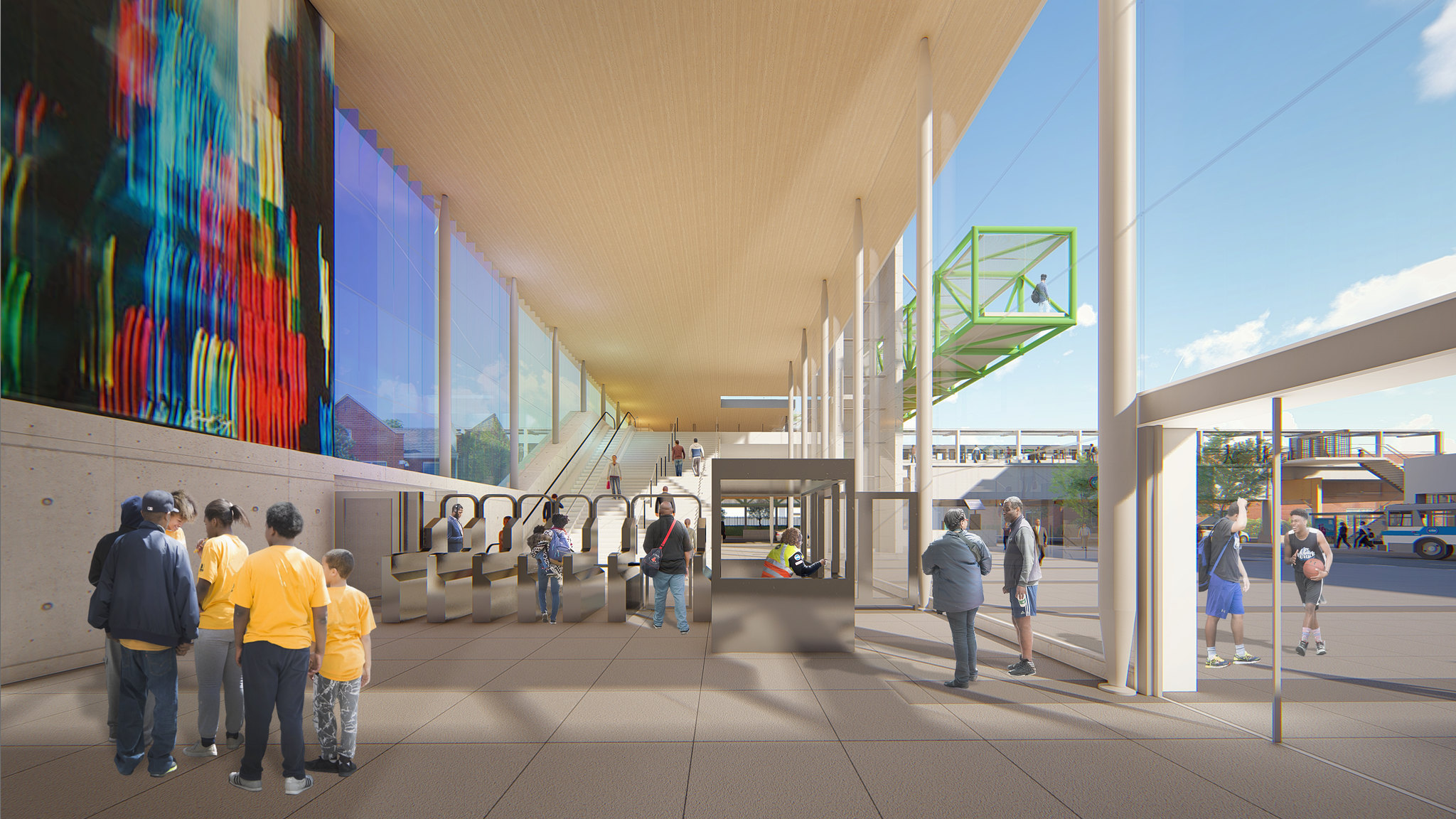 Damen Green Line Preview Renderings