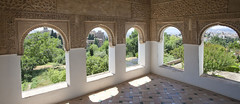 The Generalife. The Court of the Main Chanal.