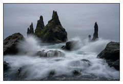 Reynisdrangar Sea Stacks.