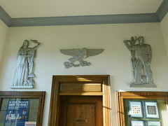 Orange Massachusetts Post Office Reliefs
