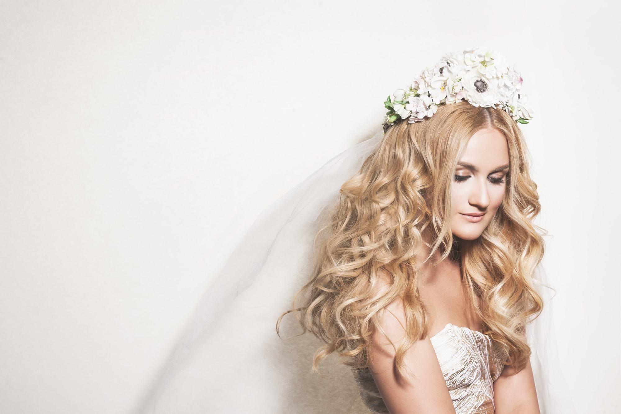 Wedding Hairstyles Down 2018 -Top 15 Trendy Hairstyles! 2