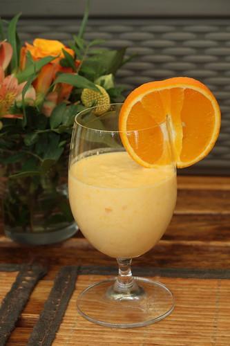 Orangen-Joghurt-Smoothie