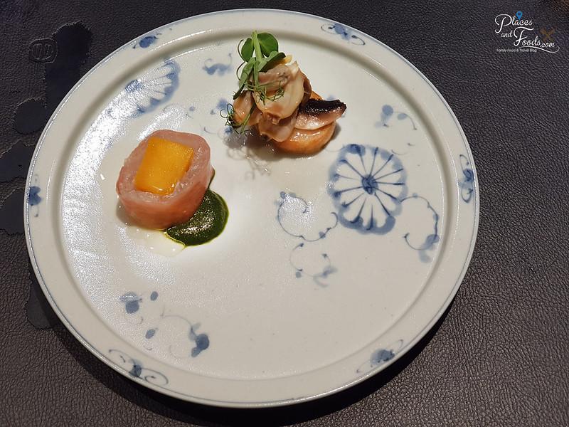 teppan by chef yonemura flounder