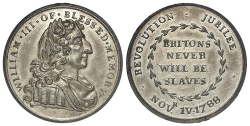 1788 Revolution Jubilee token