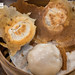 Pork buns with scallions baozi (包子)
