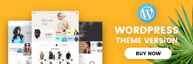 Xuper - eCommerce HTML5 Template - 1
