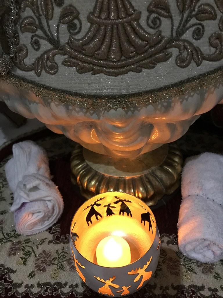 Light at the altar
