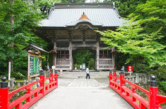 Haruna Jinja Shrine, Zuijinmon Gate(Gunma, Japan)