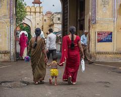 Street in Jaipur, India