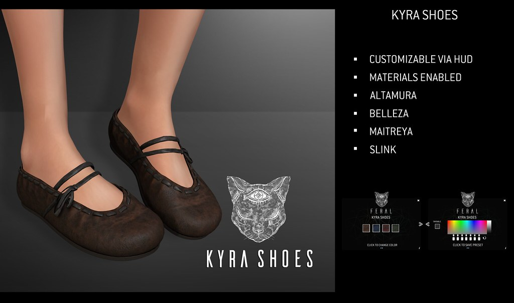 Feral – Kyra Shoes