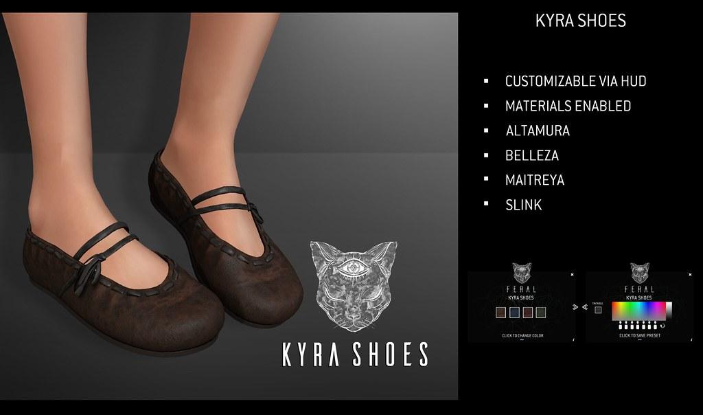 Feral - Kyra Shoes - TeleportHub.com Live!