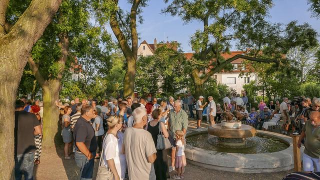 Fest Wiedereröffnung Gänsebrunnen