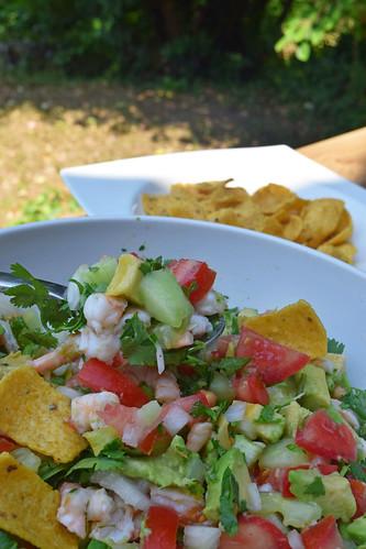 salsa avocats et crevettes3