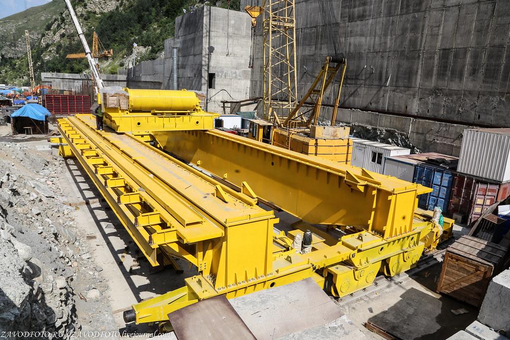 Как проходит самая масштабная стройка на Северном Кавказе. энергетика