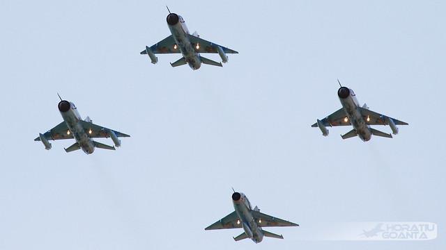 MiG-21MF-75 LanceR C + UM LanceR B RoAF   Boboc Air Show 2018