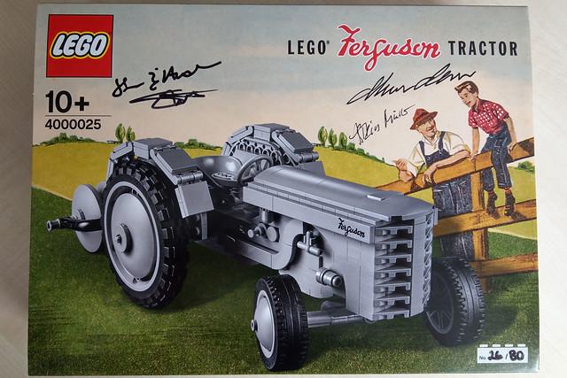 LEGO Inside Tour 2018 - 4000025 Ferguson Tractor