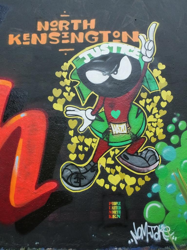 Grenfell graffiti jam