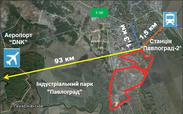 схема місцевості ІП