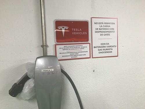 Tesla en El Corte Inglés
