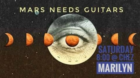 Mars Needs Guitars 6-30-18