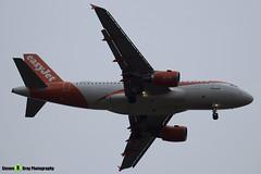 OE-LKD - 3720 - Easyjet - Airbus A319-111 - Luton M1 J10, Bedfordshire - 2018 - Steven Gray - IMG_7138