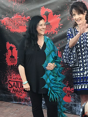 Diana Gabaldon at the 44th Annual Saturn Awards Red Carpet - IMG_8216