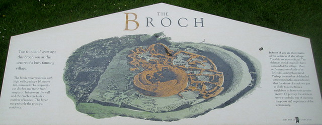 Broch of Gurness Information Board