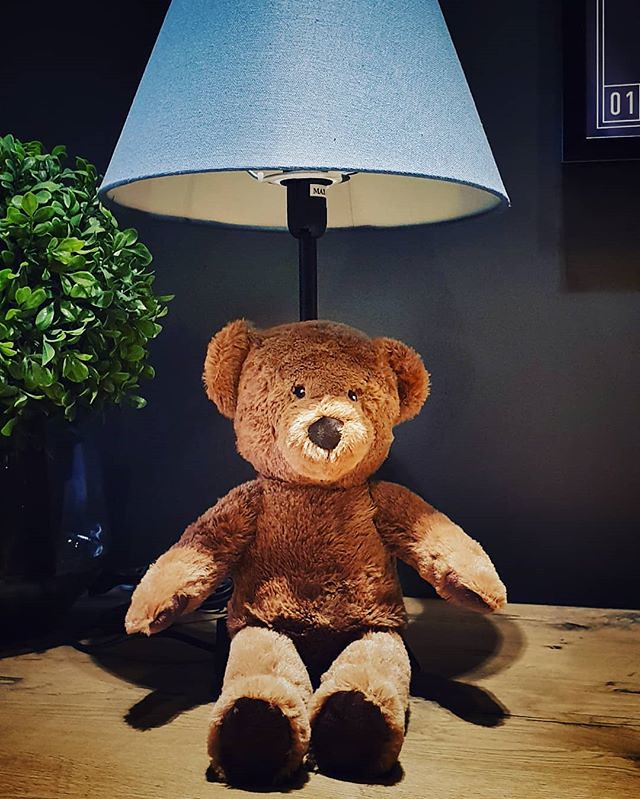 Teddy bear #lamp #bear #teddy #plush #hotel #day #life #child #relax #cute #igers #igersmilano #portrait #kid #play #fun