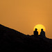 Friends-Sunset-and the edge of mountain