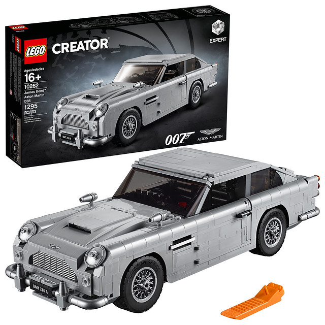 LEGO's Worst Kept Secret Is Out! James Bond's Aston Martin DB5 Is At Your Service