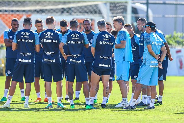 Treino Grêmio no Rio de Janeiro 21/07/18