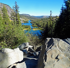 Above Twin Lakes in Mammoth Lakes, CA 2016