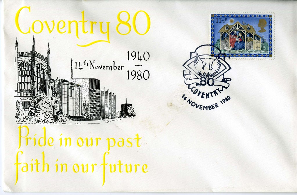Coventry '80 Commemorative Cover