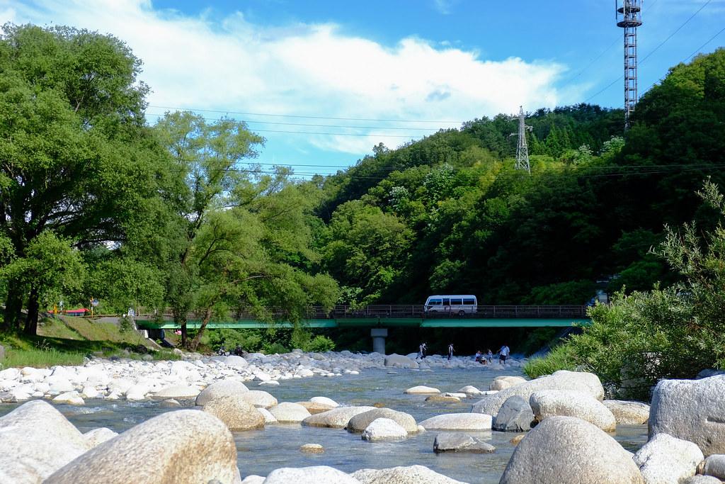 阿智川 下流