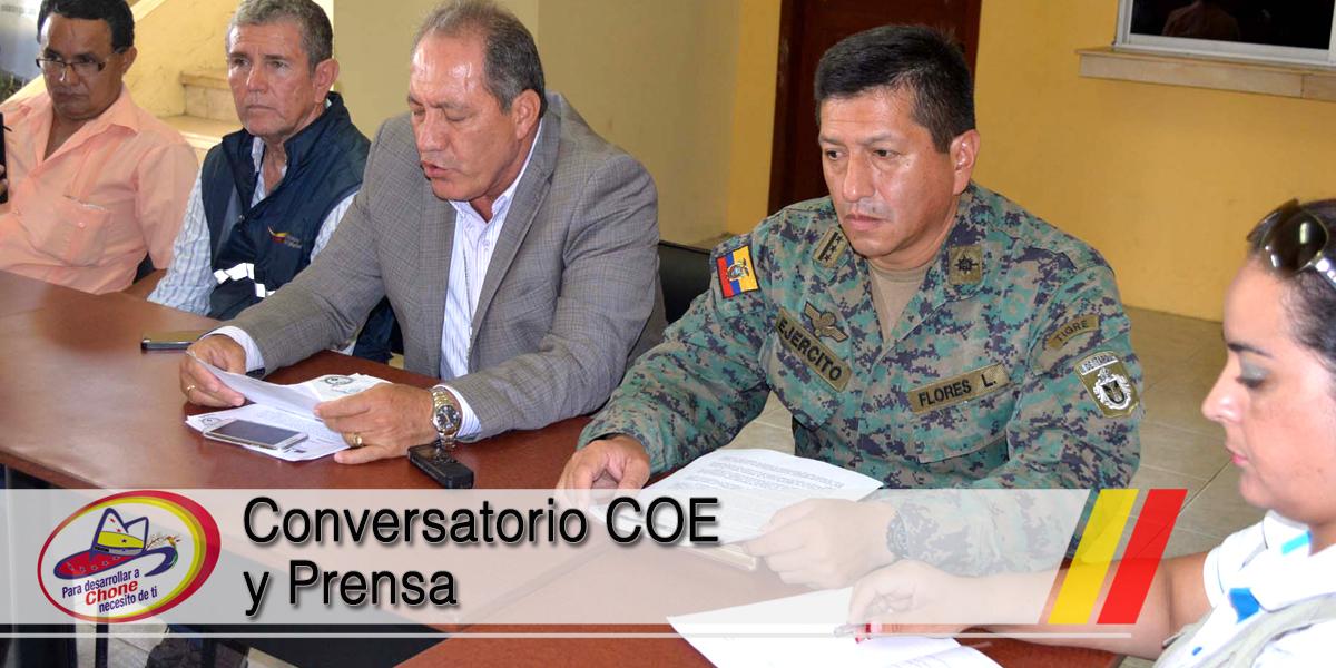 Conversatorio COE y Prensa